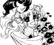 Coloriage Candy et Ferry les deux amoureux
