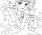 Coloriage et dessins gratuit Candy  simple gratuit à imprimer