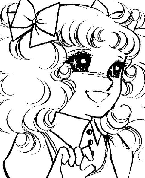 Coloriage et dessins gratuits Dessin Candy simple à imprimer