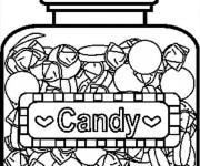 Coloriage et dessins gratuit La jare de Candy à imprimer