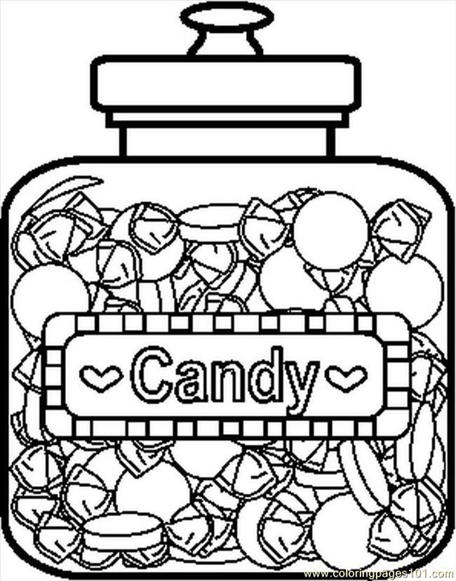 Coloriage et dessins gratuits La jare de Candy à imprimer