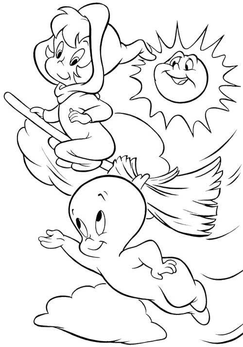 Coloriage et dessins gratuits Casper à imprimer à imprimer