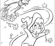 Coloriage et dessins gratuit L'amie de Casper à imprimer