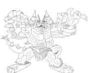 Coloriage et dessins gratuit Chaotic Chaor à imprimer