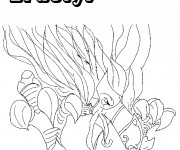 Coloriage Chaotic Dractyl