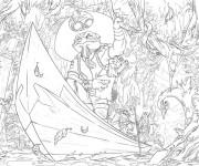Coloriage et dessins gratuit Chaotic en ligne à imprimer