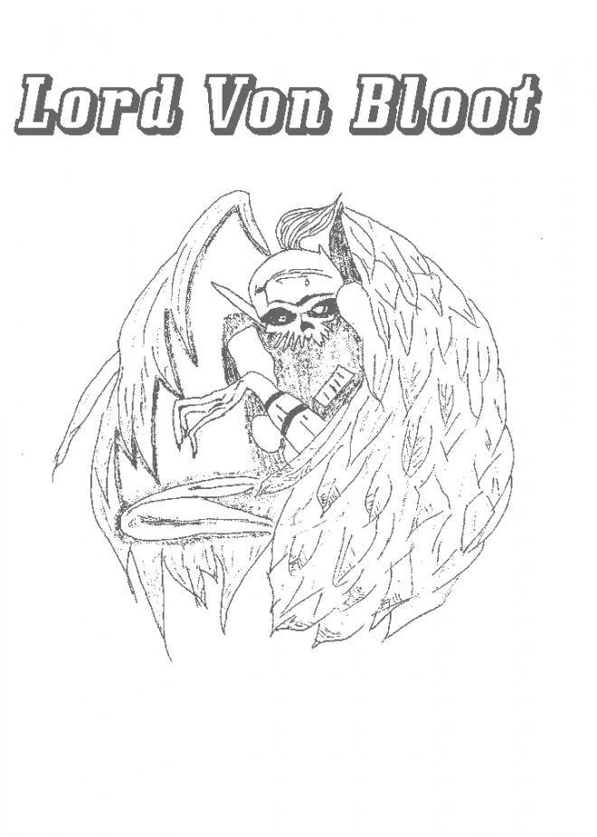 Coloriage et dessins gratuits Chaotic Lord Von Bloot à imprimer