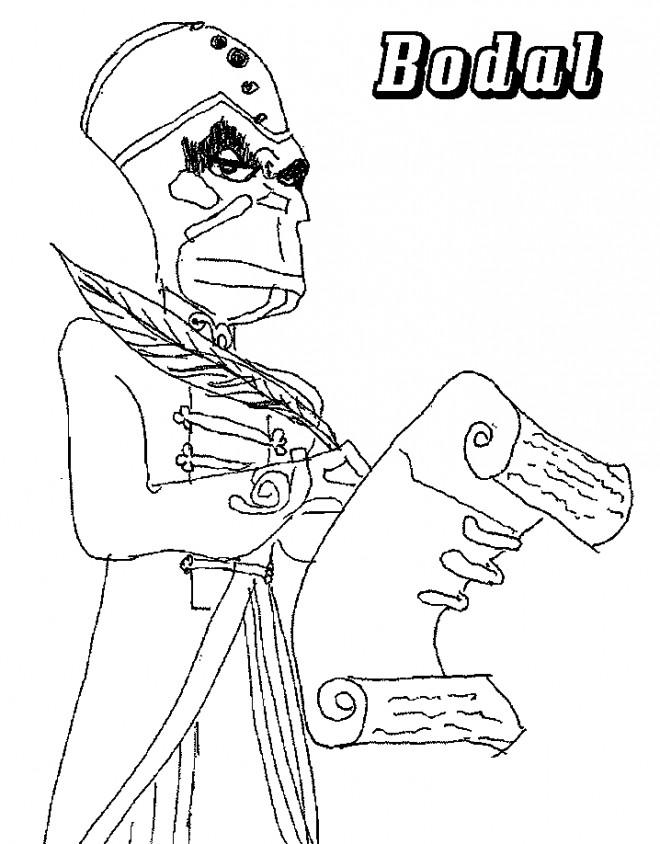 Coloriage et dessins gratuits Chaotic Radal à imprimer