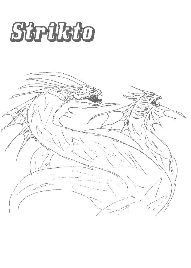 Coloriage et dessins gratuits Chaotic Strikto à imprimer