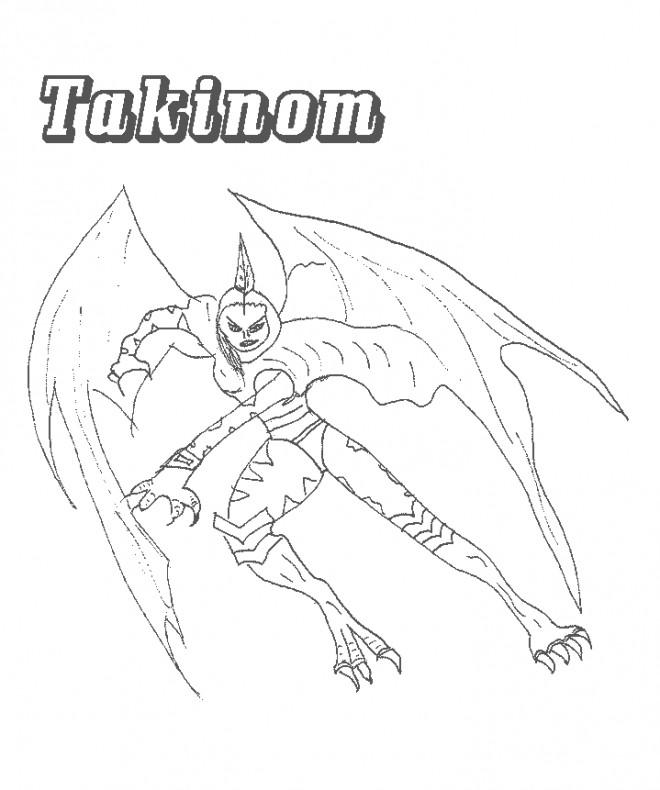 Coloriage et dessins gratuits Chaotic Takinom à imprimer