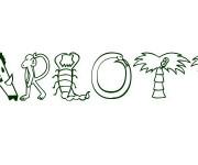 Coloriage et dessins gratuit Charlotte aux fraises en ligne à imprimer