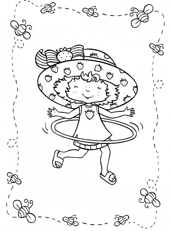 Coloriage et dessins gratuits Charlotte danseuse à télécharger à imprimer