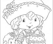 Coloriage et dessins gratuit Charlotte et ses amies à imprimer