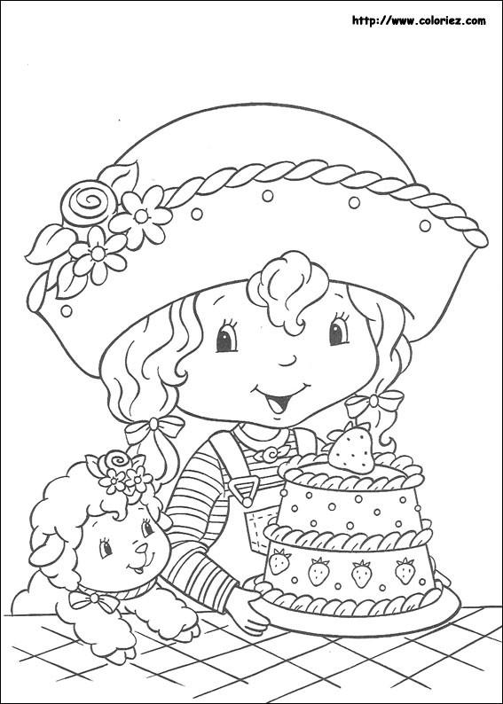 Coloriage et dessins gratuits Charlotte et ses amies à imprimer