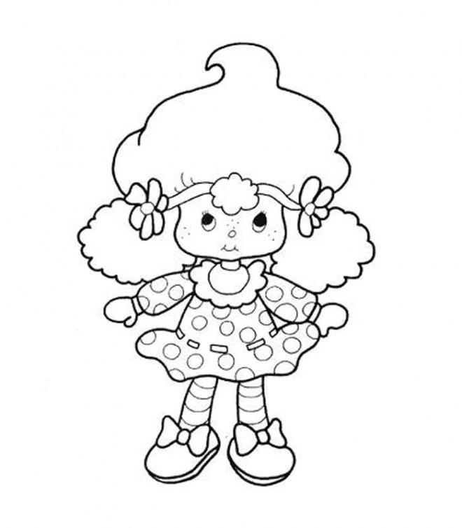 Coloriage et dessins gratuits Charlotte pour enfant à imprimer