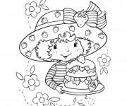 Coloriage Gâteau de Charlotte