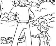 Coloriage Alvin et les Chipmunks en ligne