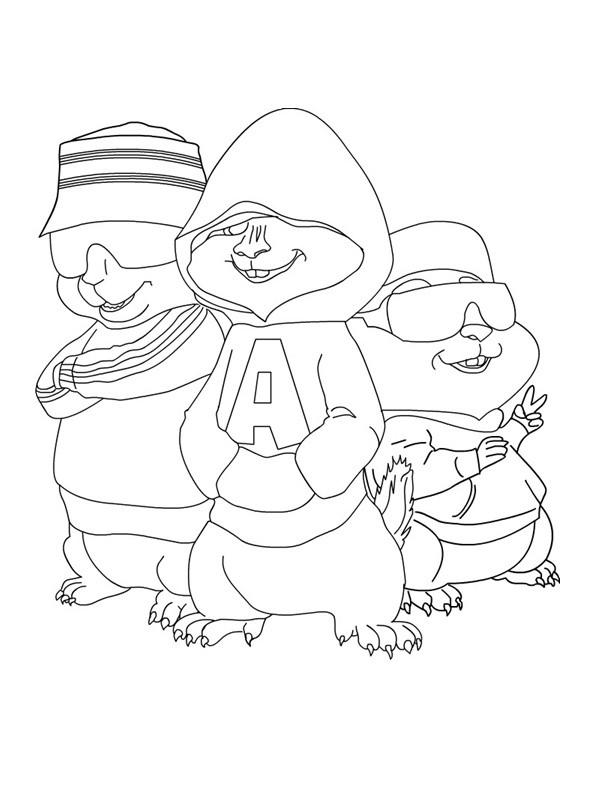 Coloriage alvin et les chipmunks gratuit dessin gratuit imprimer - Coloriage gratuit a imprimer alvin et les chipmunks ...