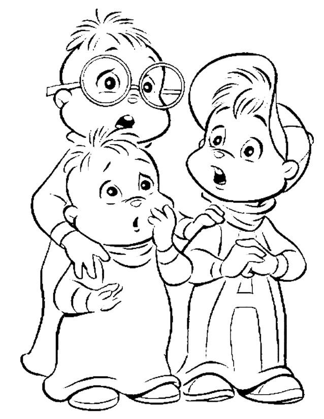 Coloriage et dessins gratuits Alvin et les Chipmunks le film à imprimer