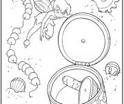 Coloriage et dessins gratuit Fée Clochette pour enfant à imprimer
