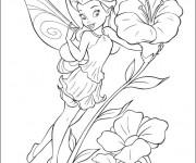 Coloriage dessin  Fee Clochette: Rosélia