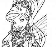 Coloriage dessin  Fee Clochette Walt Disney