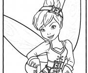 Coloriage et dessins gratuit La Fée Clochette à imprimer