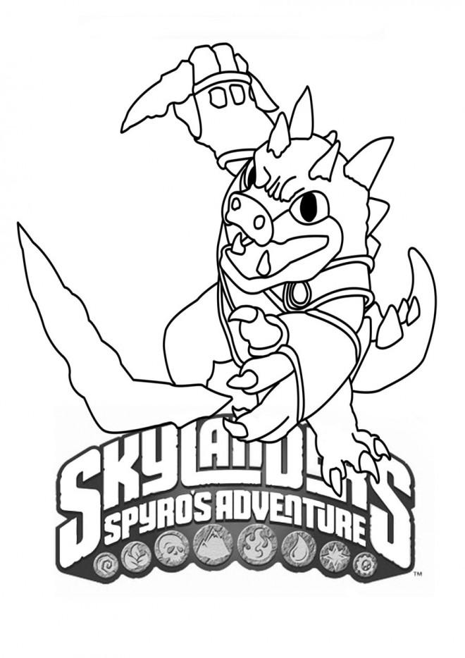 Coloriage dessin skylanders facile dessin gratuit imprimer - Dessin de skylanders ...