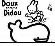 Coloriage dessin  Didou 5
