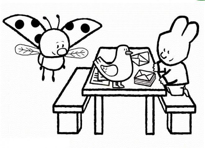 Coloriage et dessins gratuits Didou en ligne à imprimer