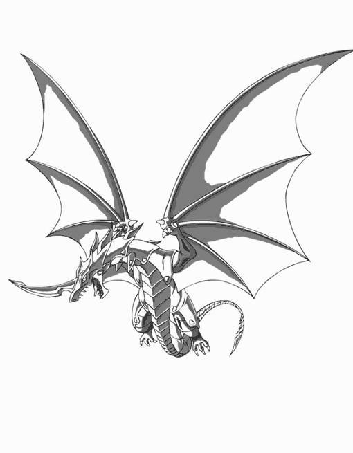 Coloriage et dessins gratuits Dragon d'acier à imprimer