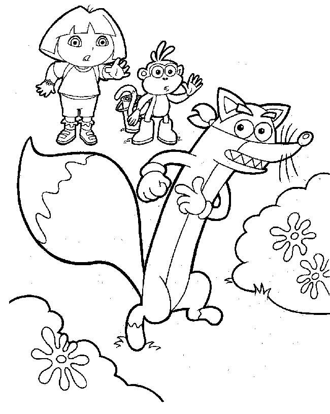 Coloriage et dessins gratuits Dora gratuit à imprimer à imprimer