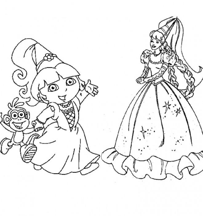 Coloriage Dora Gratuit A Imprimer Liste 100 A 120