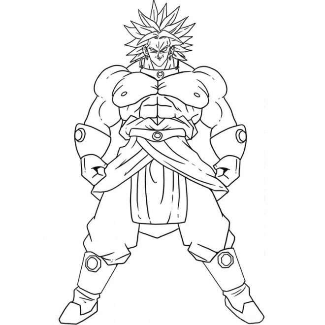 Coloriage dragon ball z 1 dessin gratuit imprimer - Coloriage gratuit dragon ball z ...