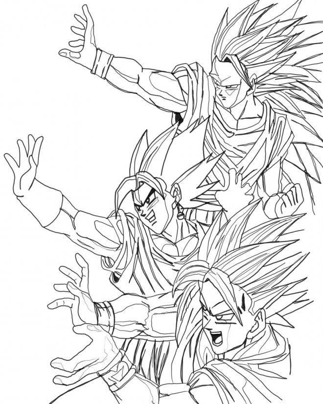 Coloriage dragon ball z imprimer gratuit - Coloriage gratuit dragon ball z ...