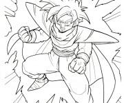Coloriage Dragon Ball Z à imprimer gratuit