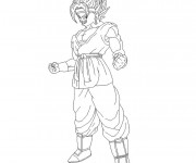 Coloriage et dessins gratuit Dragon Ball Z gt à imprimer gratuit à imprimer