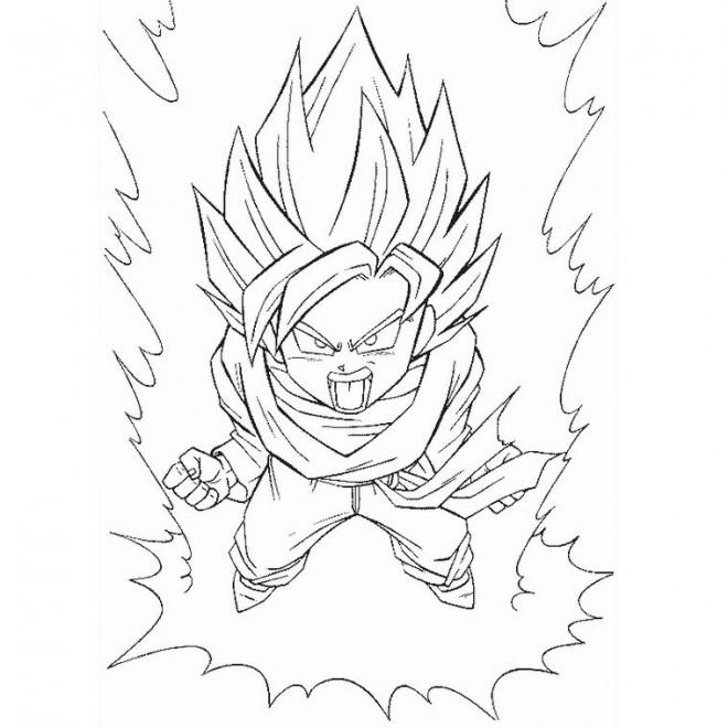 Coloriage Dragon Ball Z La Résurrection De Freezer