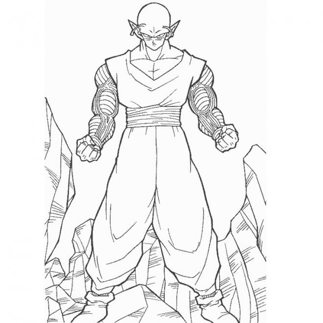 Coloriage Dragon Ball Z: Les mercenaires de l'espace