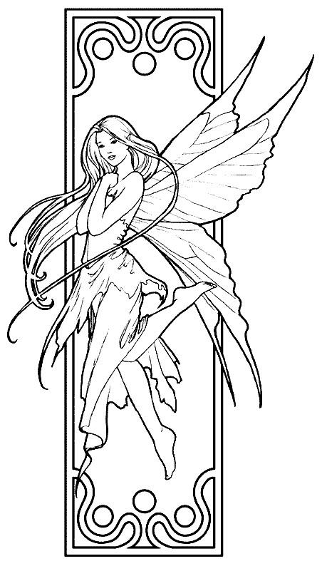 Coloriage elfe 2 dessin gratuit imprimer - Manga coloriage elfe ...