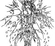 Coloriage et dessins gratuit Elfe Arwen à imprimer