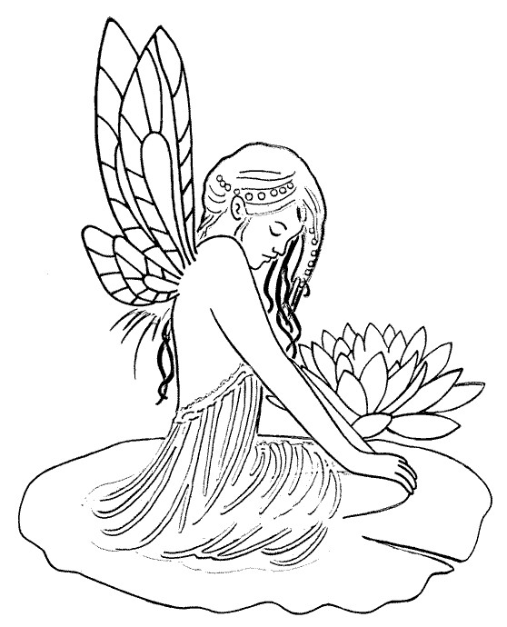 Coloriage Elfe Farran dessin gratuit à imprimer