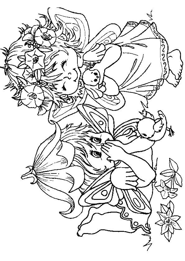 Coloriage et dessins gratuits Les Petits Elfes à imprimer