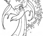 Coloriage et dessins gratuit Dessin Quête De Camelot à imprimer