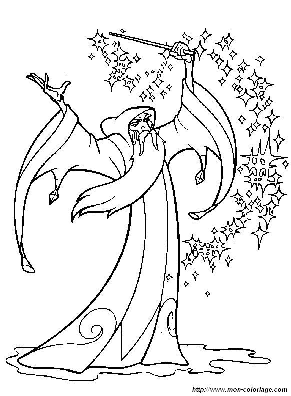 Coloriage et dessins gratuits Dessin Quête De Camelot à imprimer