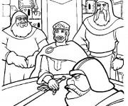 Coloriage et dessins gratuit Excalibur dessin animé à imprimer