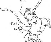 Coloriage et dessins gratuit Excalibur facile à imprimer