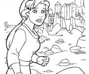 Coloriage et dessins gratuit Excalibur Kayley à imprimer