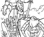 Coloriage et dessins gratuit Excalibur l'épée magique à imprimer