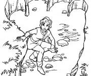 Coloriage et dessins gratuit Excalibur magique à imprimer